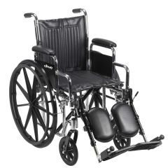 Drive Chrome Sport - Dual Axle Wheelchair