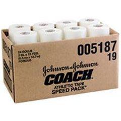"Johnson & Johnson 2"" Coach Tape- 24 Rolls/Box"
