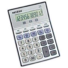 Reizen 12-Digit Talking Calculator