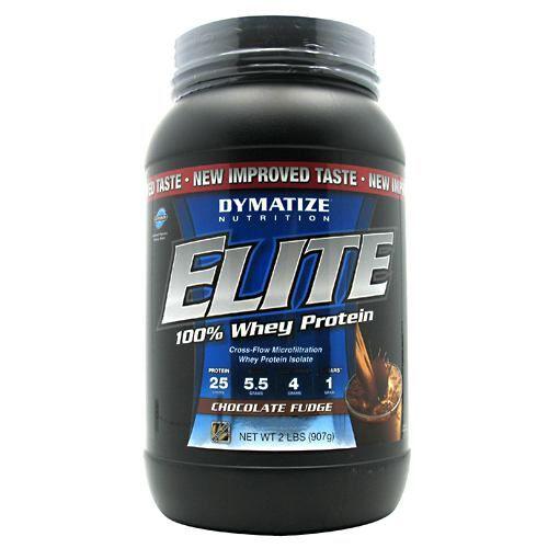 Elite Dymatize Elite 100% Whey Protein - Chocolate Fudge