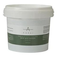 Amber Masque Mud Seaweed & French Green Clay, 1/2Gal