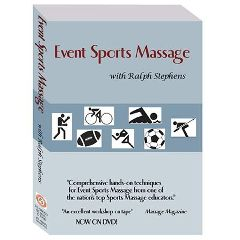 Ralph Stephens Seminars, Llc. R. Stephens Event Sports Massage Dvd