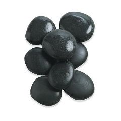 "The Original Stones Hot Massage Medium Stones, Set Of 8 2"" - 3"""