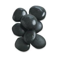 """Hot Massage Medium Stones, Set Of 8 2"""" - 3"""""""