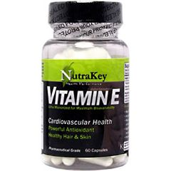 Nutrakey Vitamin E Vitamin And Mineral Supplement 60 Capsules