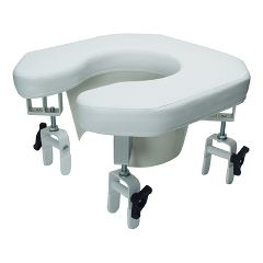 Multi-position Open Padded Raised Toilet