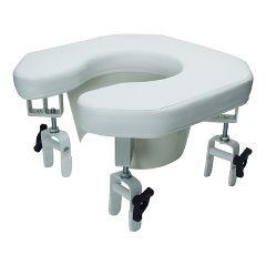 Multi-position Open Padded Raised Toilet