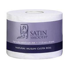 Satin Smooth Roll Natural Muslin