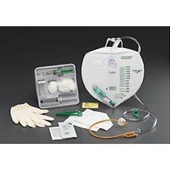 Bard 2000ml Drainage Bag Tray with 5cc Bardex Lubricath Foley Catheter