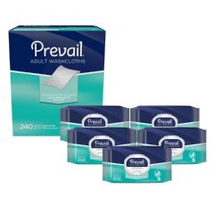 Prevail® Adult Washcloths - (240Ct. Smaller Case)