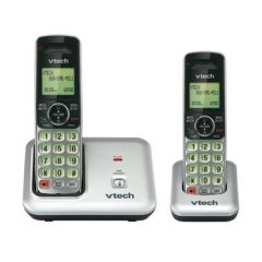 VTech DECT 6.0 Two Handset Cordless Phone w/ CID