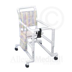 "Healthline Rolling Walker with Seat - Pediatric - 14"" Internal width"