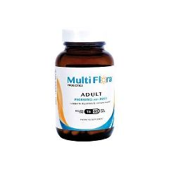 Multiflora Probiotics Multi Flora Adult Formula Probiotic Supplement