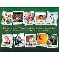 "Back Talk Systems, Inc Healthy Life Poster - Laminated 18"" x 24"""
