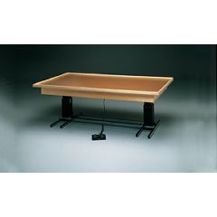 Fabrication Bailey Hi-Low Mat Tables/Electric - Raised Rim, No Mat