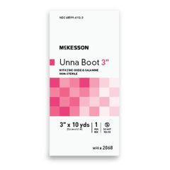 McKesson Unna Boot White with Calamine 3-inch X 10 yds.