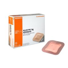 Smith & Nephew Allevyn Ag Adhesive Silver Barrier Dressing