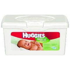 Huggies Natural Care Baby Wash Wipes