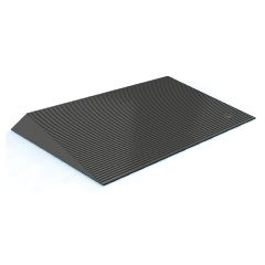 EZ-Access Rubber Threshold Ramp  Beveled Sides