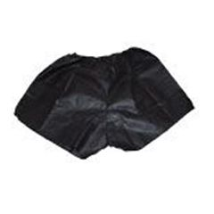 Dukal Relections Spa Undergarments - Disposable Men's Boxers in Black - 1 Pair