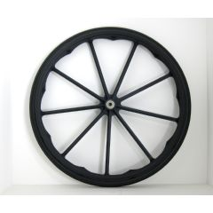 "New Solutions 24"" x 1"" Invacare / Drive 9 Spoke Mag Wheels Pair 8 Packs"