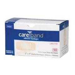 Careband Sheer XL Adhesive Bandage