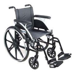 "Viper Deluxe Wheelchair - 20"" w/ Flip Back Desk Arms"