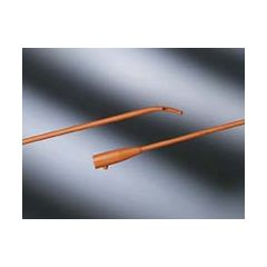 Bard Coude Tip Latex Urethral Intermittent Catheter - Two Eyes - Tiemann Model