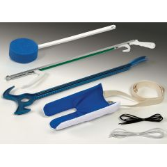 Medline Hip Kit with Metal Reacher