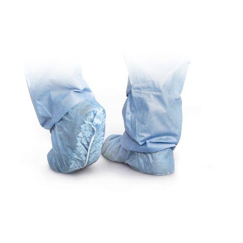 Medline Standard Polypropylene Non-Skid Shoe Covers