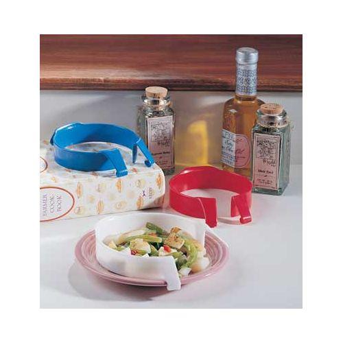 Sammons Preston Plastic Food Guard. Blue Model 079 1041