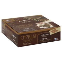 BNRG Choklat Crunch Protein Crisps - Milk Chocolate