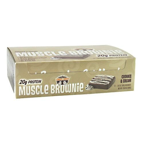 Lenny & Larry's Muscle Brownies - Cookies & Cream Model 171 583896 01 Pack of 12