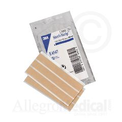 "3M Steri-Strip Elastic Skin Closures - 1/2"" x 4"" - 6 strip envelope"