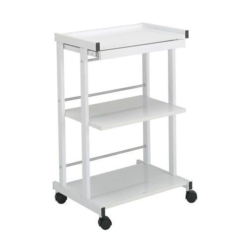 Paragon 3-Shelf Trolley With Pull Out Shelf & Power Strip Model 271 0156