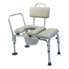 Lumex Padded Commode Tub Transfer Bench