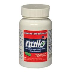 LEE PHARMACEUTICALS NULLO Deodorant Tablets