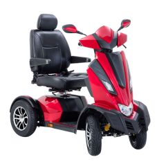 "Drive King Cobra Executive Power Scooter, 4 Wheel, 22"" Captain Seat"