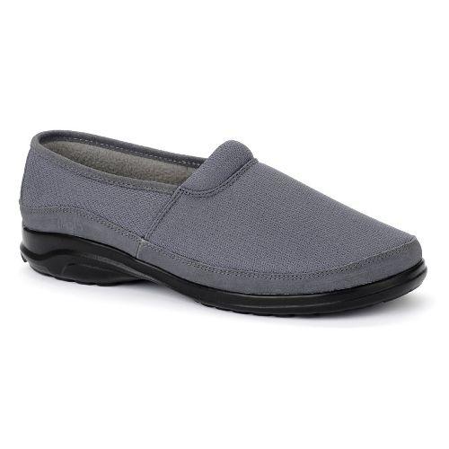 Oasis Footwear Oasis Men's  Sam Gray Diabetic Shoe