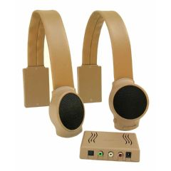 Sound Product Solutions, Llc Audio Fox Tan TV Listening Speaker System