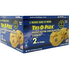 Tri-O-Plex Chef Jay's Tri-O-Plex Cookies - Peanut Butter Chocolate Chip