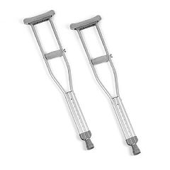 Invacare Quick-Change Crutches - Junior