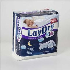 "Laydry Absorbent Bed Pads For Kids 24"" x 36"""