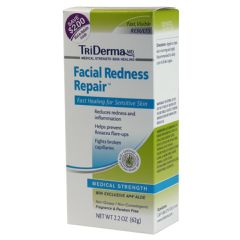 TriDerma Facial Redness Repair Cream - 2.2 oz tube
