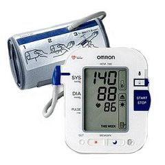 Omron (Marshall) Measurement Printout Blood Pressure Monitor