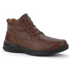 Oasis Footwear Oasis Men's  Jackson Brown Diabetic Shoe