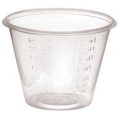 Medline Non-Sterile Graduated Plastic Medicine Cups