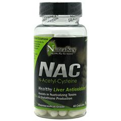 Nutrakey NAC Vitamins Supplement 60 Capsules