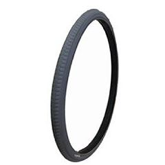 New Solutions Gray Pneumatic Rib Tire - 6 x 1/4""