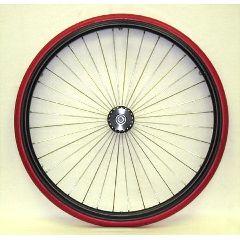 """New Solutions 24 x 1"""" Metal Spoke Wheel - 3"""" Hub"""
